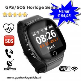 GPS horloge senior Wifi health telefoon tracker ouderen