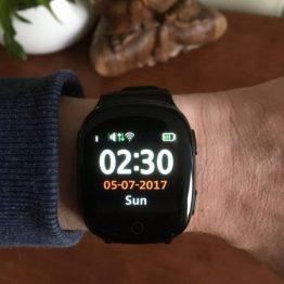 GPS/SOS Horloge Senioren Wifi vanaf 84,95