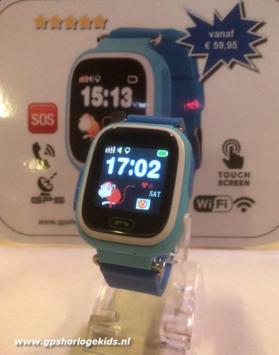 gps tracker horloge kind telefoon sos wifi bellen