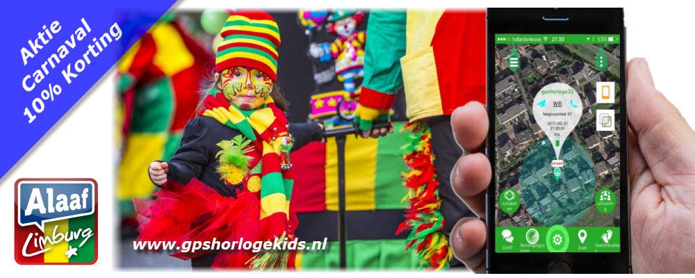 GPSHorlogeKids aktie carnaval korting kortingscode