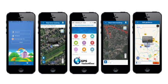 App Deest & There GPStrackerWinkel.nl Header