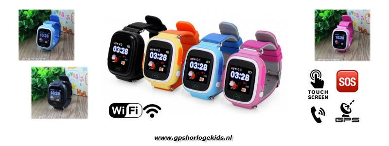 gps horloge junior wifi kind tracker telefoon sos